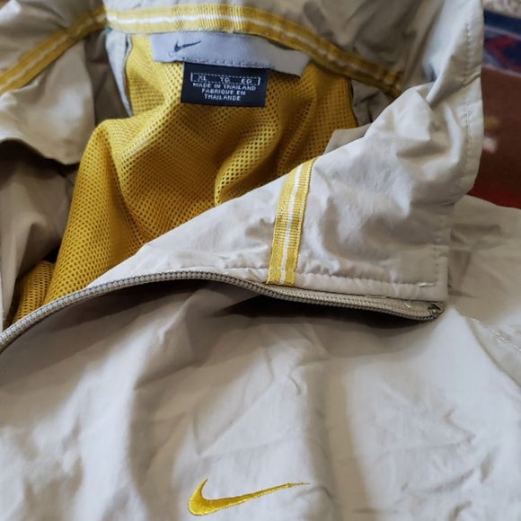 Nike Other - Nike Embroidered Spellout Windbreaker Mens Size XL